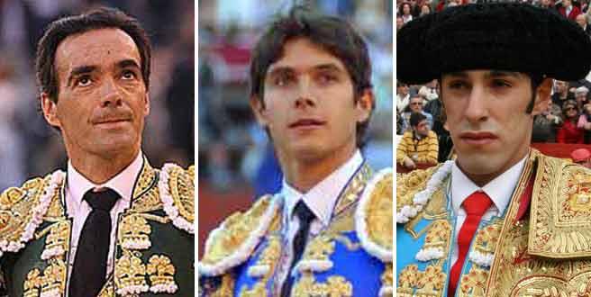 El Cid, Castella y Talavante.
