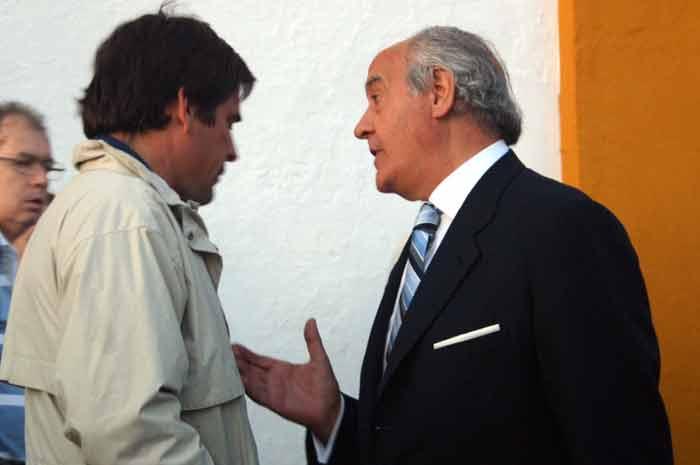 Dávila Miura y el empresario Ramón Valencia.