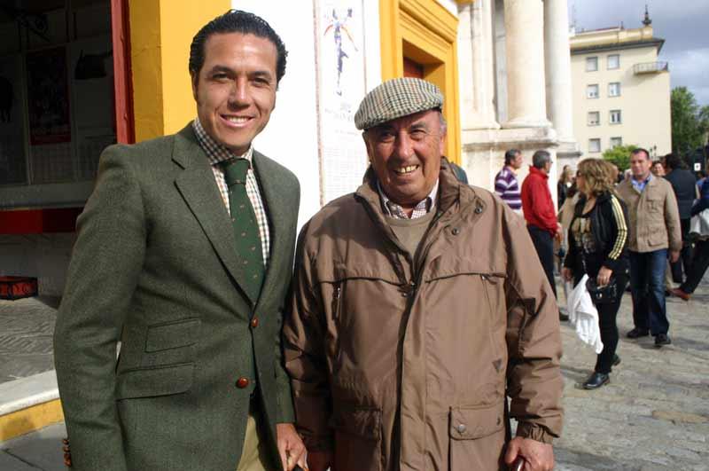 El torero mexicano Alfredo Ríos 'El Conde' y el sevillano José Rodríguez 'El Pío'.
