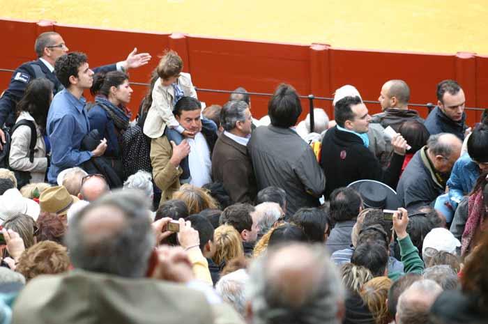 La Junta de Andalucía permite un abuso al aficionado que paga una cara entrada.