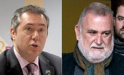 Los representantes municipales del PSOE, Juan Espadas, e IU, Antonio Rodrigo Torrijos, no apoyaron la declaración de los toros como Patrimonio Inmaterial de Sevilla.