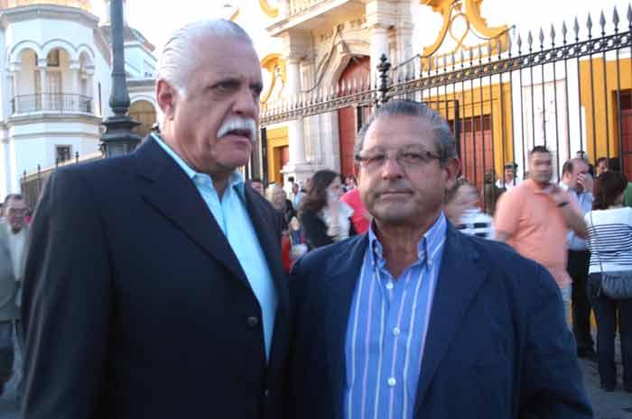 Rafael Herrerías y Juan Ruiz Palomares.