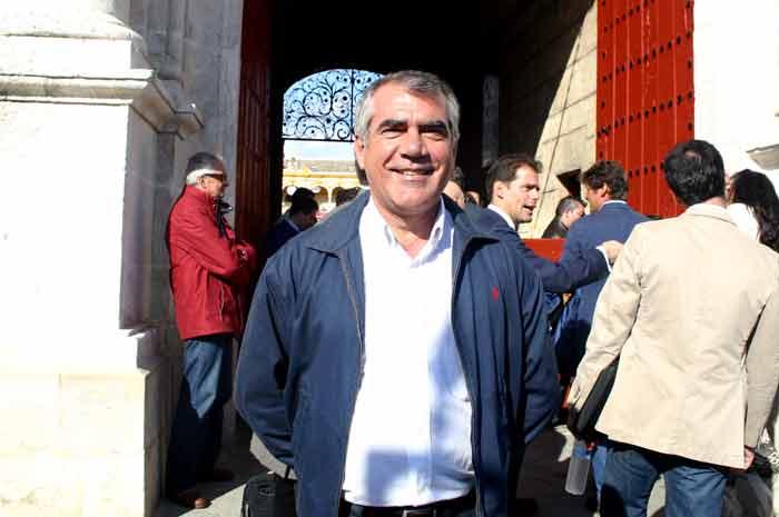 Ignacio Rebollo, veterinario de La Merced de Huelva.
