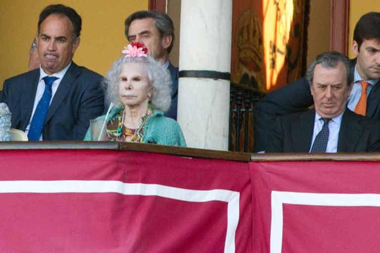 La duquesa de Alba.
