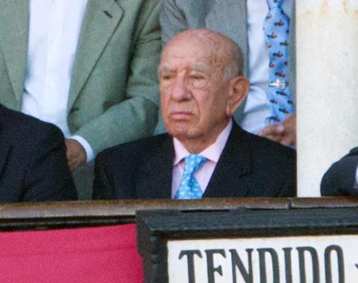 El ganadero Victorino Martín.