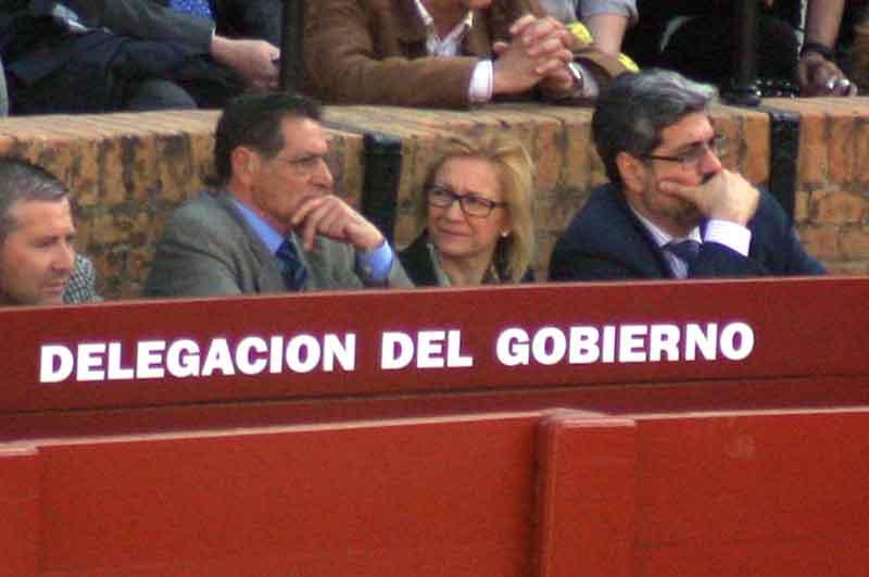 La polémica delegada de la Junta, Carmen Tovar, apura sus útimos días de burladero.