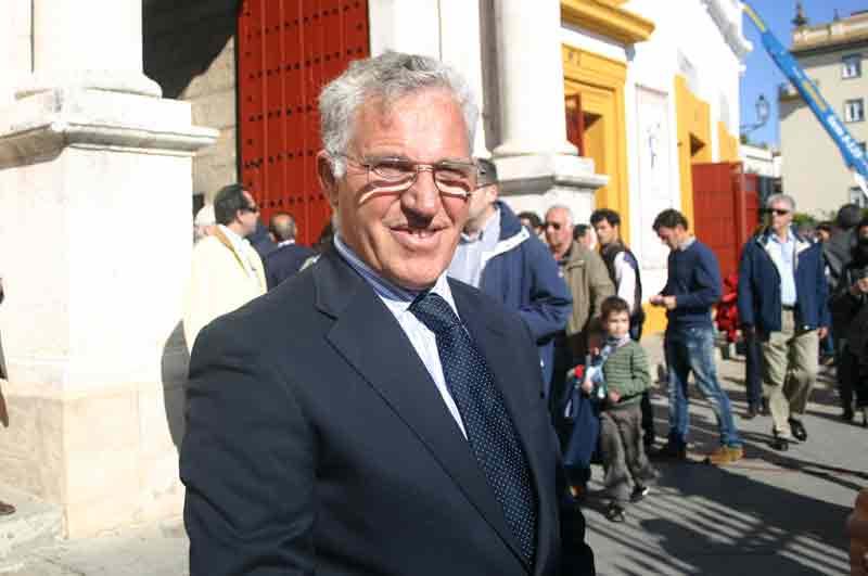 El banderillero Luis Mariscal, padre de Salvador Cortés.