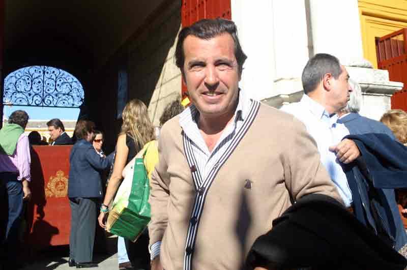 El ganadero y apoderadio sevillano Manu Vázquez.