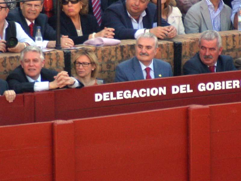 Menacho, Tovar y Partida, colaboradores del veto a SEVILLA TAURINA.