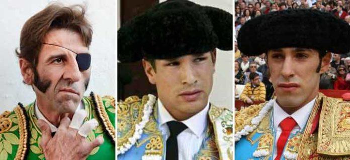Padilla, Manzanares y Talavante.