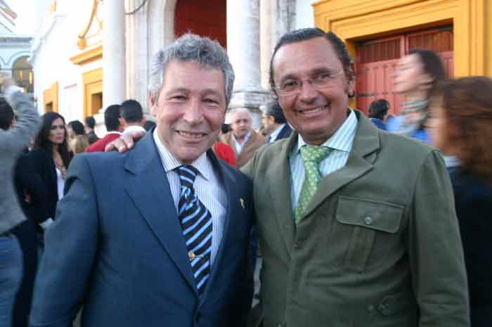 Rafael Torres y Antonio Rubio 'Macandro'.