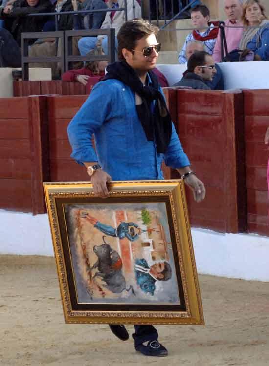 Trofeo también para José Chacón.