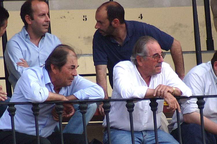 Delante, los hermanos Antonio y Eduardo Miura; detrás, los hermanos Álvaro y Santi Acevedo.