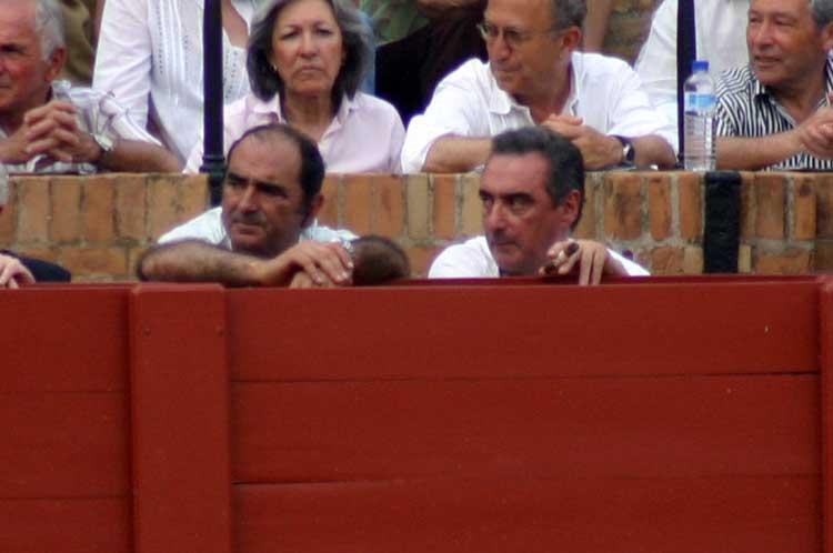 El conde de la Maza y Carlos Herrera.