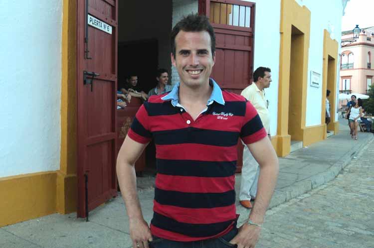 El banderillero Pedro Mariscal.