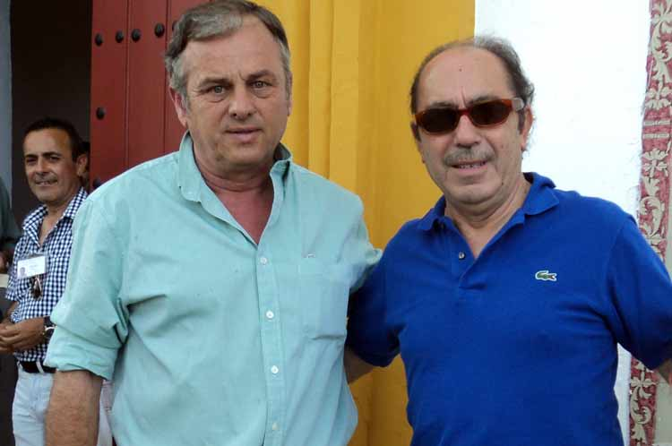 Pepe Murube y Manuel Viera.