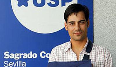 Gómez del Pilar tras ser dado de alta.