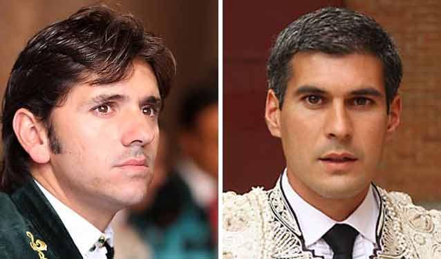 Los sevillanos Diego Ventura y Curro Javier.