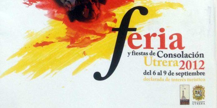 Cartel de Feria de Utrera, que de momento no anuncia toros.