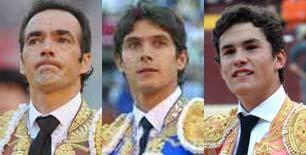 El Cid, Sebastián Castella y Daniel Luque.