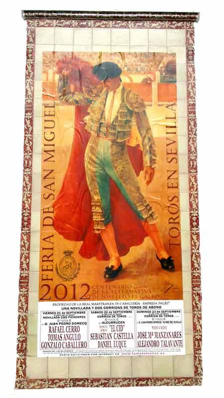 Cartel de San Miguel 2012.