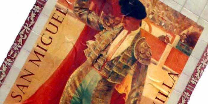 Cartel de la Feria de San Miguel 2012, que no se celebrará de San Miguel. (FOTO: Javier Martínez)