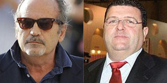 Los empresarios sevillanos González de Caldas y José Jesús Cañas.