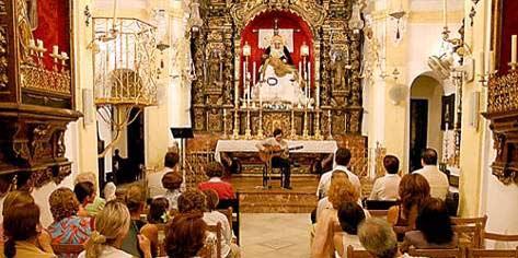 La capilla de la Hermandad del Baratillo.