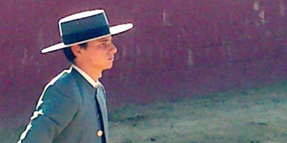El novillero sevillano Carlos Corradini.