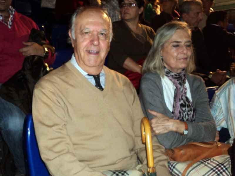 El veterinario y que fuera presidente en la Maestranza, Fernando Carrasco.