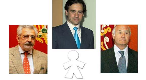 Los tres protagonistas de nuestra 'inocentada' de este año.