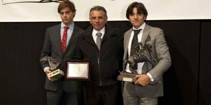 Francisco Palha, Antonio Ventura y Diego Ventura.