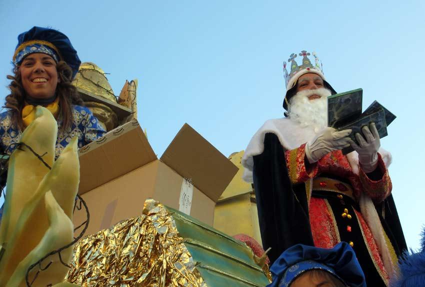 Cabalgata de Reyes en Aznalcóllar.