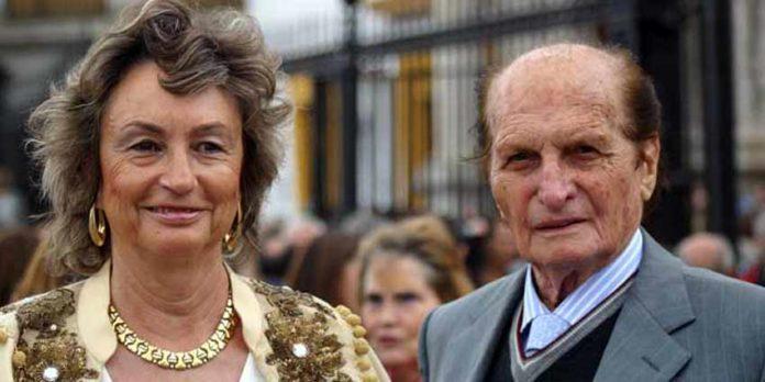 El rejoneador sevillano Ángel Peralta y su esposa. (FOTO: Javier Martínez)