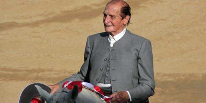 El rejoneador sevillano Ángel Peralta.