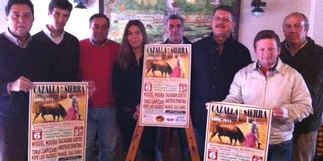 Presentación del festival de Cazalla de la Sierra.