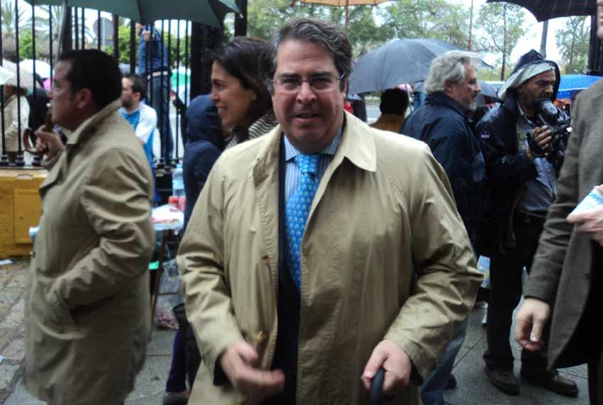 El concejal de Fiestas, Gregorio Serrano.