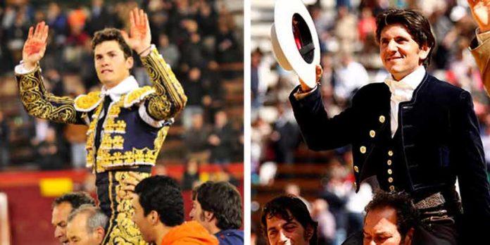 Daniel Luque y Diego Ventura han salido hoy a hombros en Valencia.