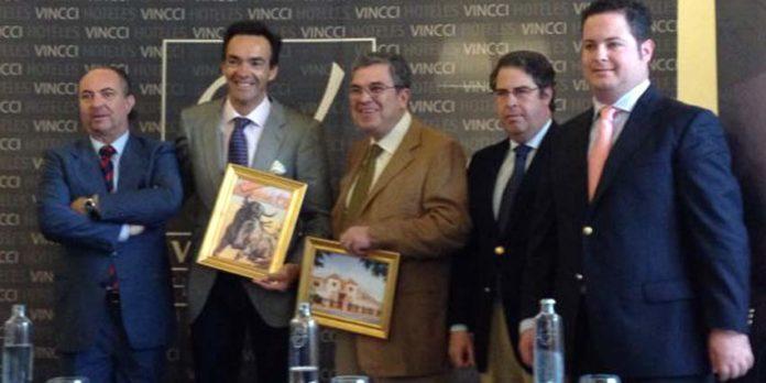 Juan Belmonte Luque, El Cid, Javier Beca Belmonte, Gregorio Serrano y Javier López.