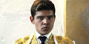El novillero sevillano Alejandro Jiménez.