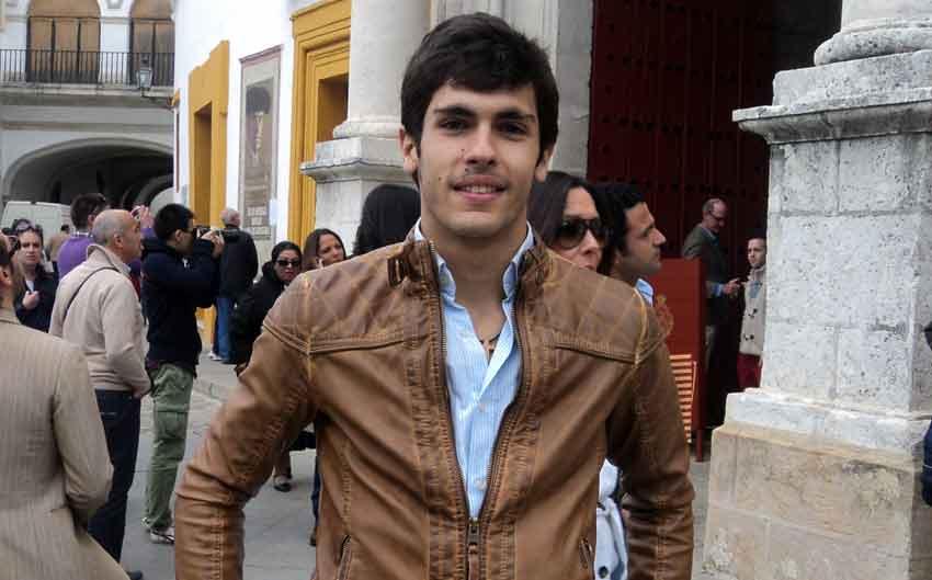 El novillero sevillano Alejandro Pavón.