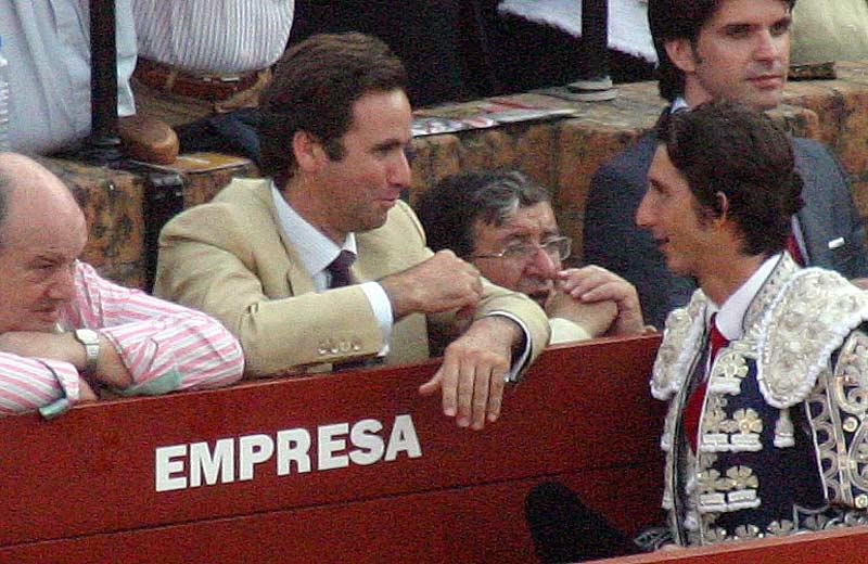 El ganadero de la tarde en la Real Maestranza, Álvaro Núñez Benjumea.