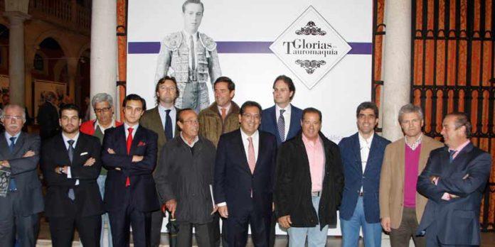 Inauguración de la exposición 'Glorias de la Tauromaquia'. (FOTOS: Eduardo Briones)