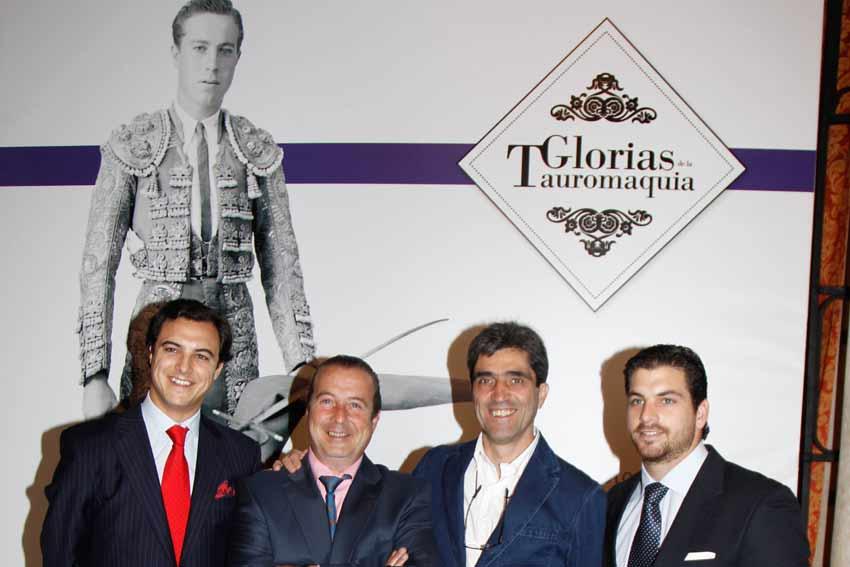 Inauguración de la exposición 'Glorias de la Tauromaquia'.