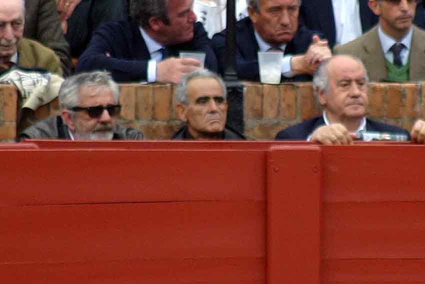 Los empresarios Eduardo Canorea y Ramón Valencia, en su sitio.