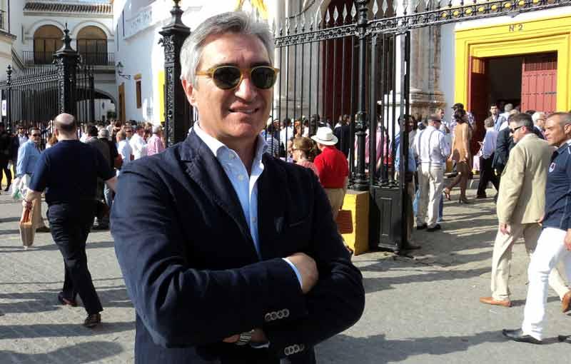 El empresario taurino sevillano Pepe Cutiño.