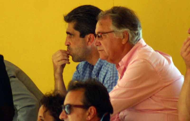 Emilio Muñoz y Manuel Luque.