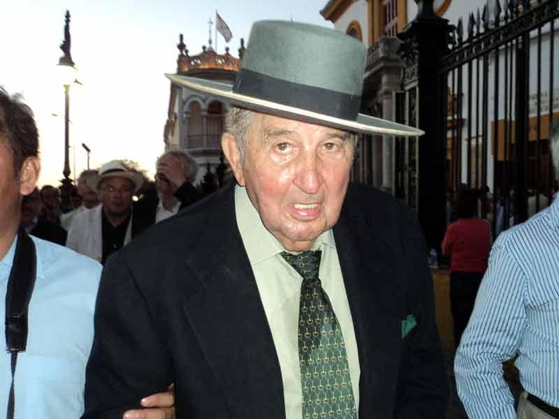 El veterano rejoneador y ganadero jerezano Fermín Bohórquez.
