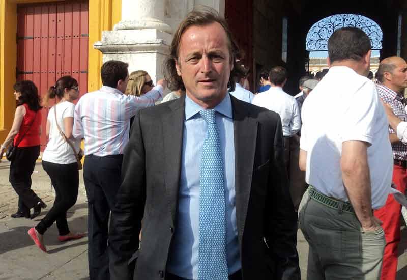 Fernando Murube, responsable de los trofeos taurinos de El Corte Inglés.