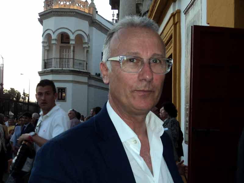 El banderillero y ahora apoderado José Jesús Sánchez 'Hipólito'.